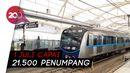 Penumpang MRT Terus Naik di Masa PSBB Transisi