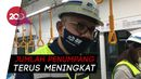 PSBB Transisi Diperpanjang, MRT Perketat Protokol Kesehatan