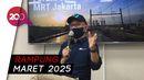 Akibat Corona, Proyek MRT Bundaran HI-Harmoni Molor