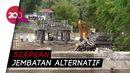 Jembatan di Gorontalo Putus, Wamen PUPR Akan Bangun Jalur Alternatif