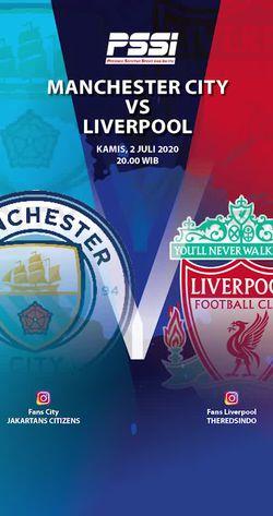 Manchester City Vs Liverpool, Ini Prediksi Para Fans