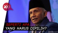 Soal Reshuffle, Amien Rais Singgung Kriteria Menteri Jokowi