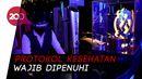 Tempat Hiburan Malam di Bandung Mulai Simulasi Protokol Kesehatan