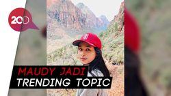 Maudy Ayunda Diduga Cekcok dengan Pria saat Live Instagram, Ada Apa?