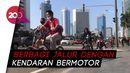 CFD Ditiadakan, Pesepeda Padati Jalan Sudirman-Thamrin