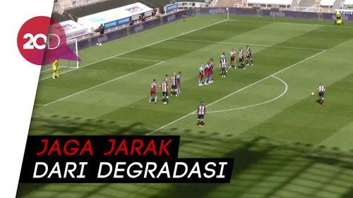 West Ham United Tahan Imbang Newcastle 2-2
