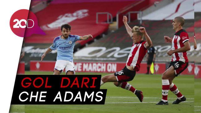 Gol Cantik Southampton Taklukkan Manchester City