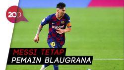 Presiden Barcelona Tepis Isu Hengkangnya Messi
