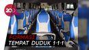 Keren! Ada Bus Physical Distancing ala Jawa Tengah