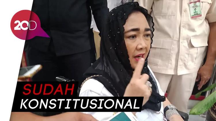Rachmawati Menang di MA soal Penetapan Presiden, KPU Beri Tanggapan
