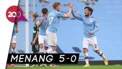 Manchester City Pesta Gol ke Gawang Newcastle