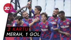 Derbi Catalan, Barcelona Menang Tipis Dari Espanyol