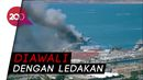 Kebakaran Kapal Angkatan Laut AS, 18 Orang Terluka