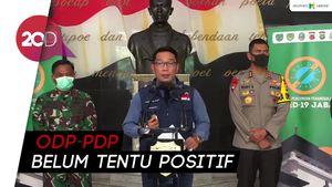 Ridwan Kamil: Ada 1.950 Angka Kematian ODP-PDP di Jawa Barat