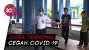 Tak Pakai Masker di Terminal Tirtonadi Solo, Siap-siap Dihukum Begini