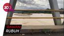 Kondisi Jembatan Sabbang yang Tergerus Banjir Bandang Luwu Utara