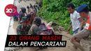 Dramatis! Evakuasi Jenazah Wanita Korban Banjir Lumpur Luwu Utara