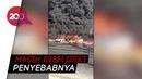 Pipa Minyak Mentah Terbakar di Kairo, 17 Orang Terluka