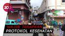 Pasar di Polman Kembali Dibuka, Razia Masker Diperketat!