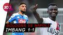 Ditahan Imbang Bologna, Napoli Gagal Menang Lagi