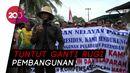 Ratusan Nelayan Geruduk Kantor Desa Patimban Subang!