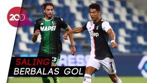 Sengit, Juventus Ditahan Imbang Sassuolo 3-3