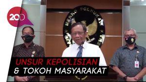 Mahfud Md Serahkan 12 Nama Calon Anggota Kompolnas ke Jokowi
