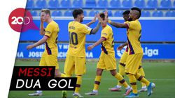 5 Gol Barcelona Permalukan Alaves di Kandang
