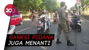 Warga Makassar Tak Bermasker Diancam Denda Hingga Rp 1 Juta!