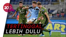 Lazio VS Cagliari: Immobile Terbangkan Si Elang
