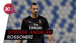 Pioli Masih Ngarep Ibrahimovic Bertahan di AC Milan