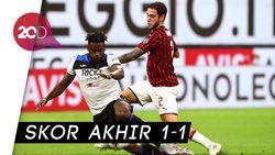 AC Milan Bermain Imbang dengan Atalanta
