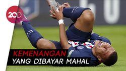 PSG Juara Piala Prancis, Kylian Mbappe Cedera