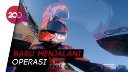 Marc Marquez Batal Race di MotoGP Andalusia
