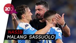 Napoli Vs Sassuolo: 4 Gol Tim Tamu Dianulir