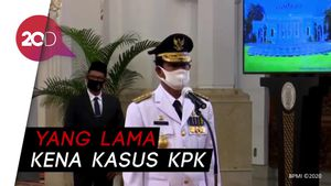 Jokowi Lantik Isdianto Jadi Gubernur Kepri Definitif