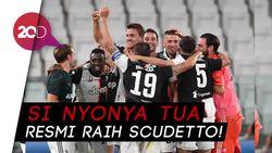 Juventus Kalahkan Sampdoria 2-0, Kunci Titel Scudetto