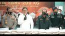 Polri Berhasil Ungkap Kasus 200 Kg Sabu dalam Karung Jagung