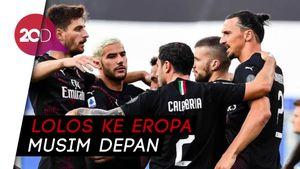 AC Milan Vs Sampdoria: Ibrahimovic Cs Pesta Gol 4-1