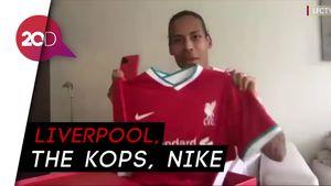 Gandeng Nike, Liverpool Rilis Jersey Kandang Anyar
