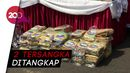 Polisi Amankan 160 Kg Ganja Dikemas Buku LKS