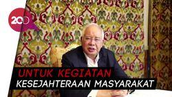 Najib Razak Sebut Dana 1MDB Disalurkan untuk Anak Yatim