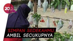 Sembako Gantung, Cara Warga Subang Bantu Korban Terdampak Covid-19