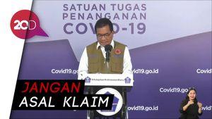 Pemerintah Soal Obat Covid-19 Hadi Pranoto: Jangan Asal Klaim!