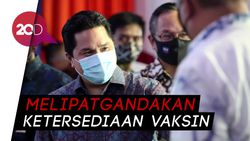 Erick Thohir: Bio Farma Siap Produksi 250 Juta Dosis Vaksin Covid