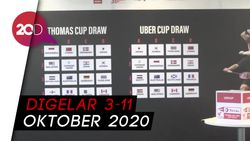 Drawing Thomas-Uber Cup 2020: Indonesia Vs Malaysia