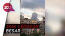 Detik-detik Ledakan Besar di Lebanon