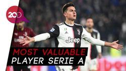 Dybala Jadi Pemain Terbaik Liga Italia 2019/2020
