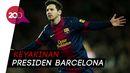 Messi Akan Pensiun 3-4 Tahun Lagi di Barcelona