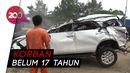 Kecelakaan Tunggal di Tol Cipularang, 1 Orang Tewas 6 Terluka